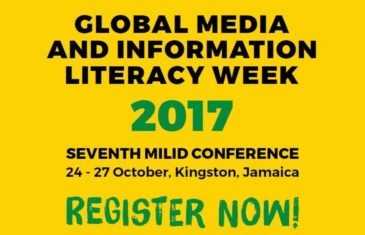 Registration opens for 7th Media and Information Literacy and Intercultural Dialogue (MILID) Conference, 24-27 October, Kingston, Jamaica