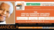 Mandela Day to be marked in Lagos, Nigeria
