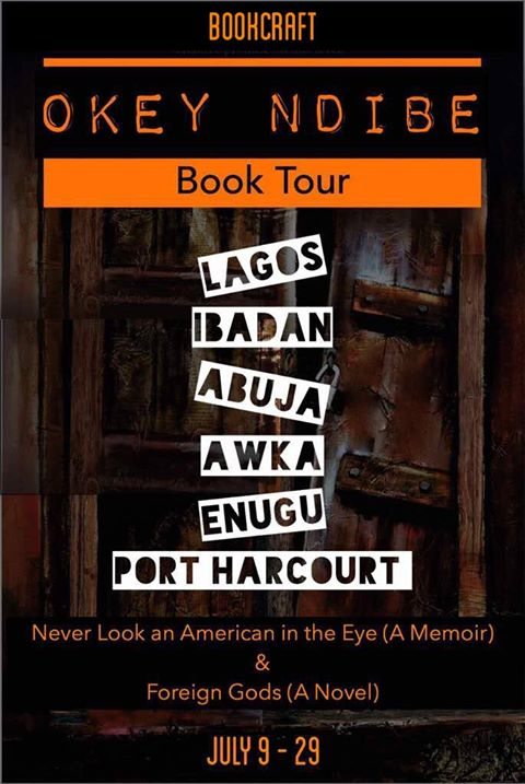 Bookcraft Africa organises multi-city tour for Okey Ndibe book launch